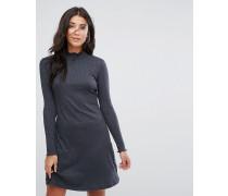 Julie - Hochgeschlossenes Jersey-Kleid