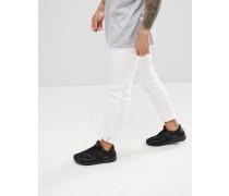 Enge Jeans in Weiß