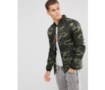 Jacke mit Military-Muster