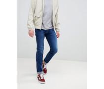 Snap - Enge Jeans mit Farbschattierungen in Dunkelblau