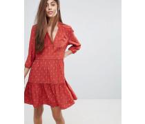 Maggie - Kleid mit Fleur-de-Lys-Print