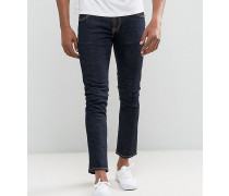tall tight long john skinny jeans twill rinsed wash