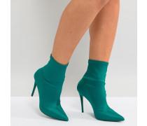 Cirelle - Stiefel zum Hineineschlüpfen in Smaragdgrün