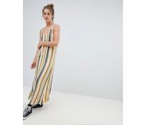 Bunt gestreiftes Camisole-Kleid