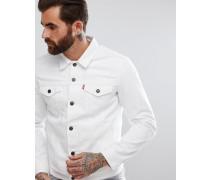 Levi's - Trucker-Jeansjacke in Weiß