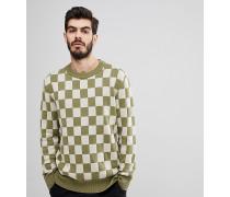 Co - Elof - Pullover mit Schachbrettmuster