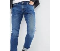 Schmal geschnittene Jeans mit Dynamic-Stretchanteil