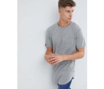 Langes Basic-T-Shirt