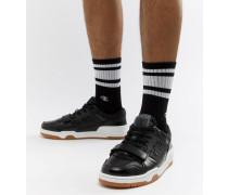 3 On 3 - Niedrige Sneaker in Schwarz