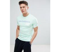 Klassisches grünes T-Shirt mit Logo MT73581_SEF