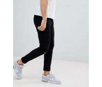 Skinny-Jeans mit Rissen