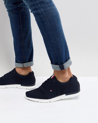 Tommy Hilfiger Herren Tobias - Netz-Sneaker in Marineblau mit Flagge Billig Verkauf Ebay Angebote Günstiger Preis Countdown Paket Günstiger Preis 0r6SsM