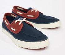 Topsider - Marineblaue Bootsschuhe
