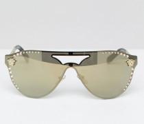 Pilotensonnenbrille mit Swarovski-Detail