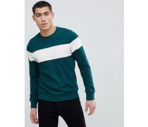 Sweatshirt mit Retro-Streifen