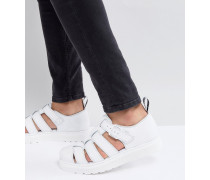 Vibal - Geschlossene Sandalen in Weiß
