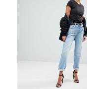 3301 - Boyfriend-Jeans mit mittelhohem Bund