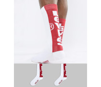 Levi's - Socken mit Logoprint im 2er-Pack