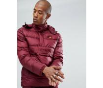 Wattierte Jacke zum Überziehen in Rot