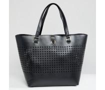 Shopper-Tasche mit Perforationen