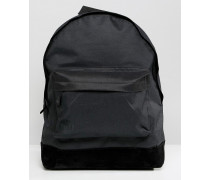 Klassischer Rucksack in Schwarz