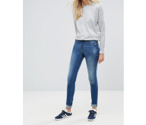Skinny-Jeans in Hellrot