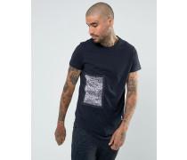 T-Shirt mit Aufnähern