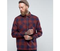 Jesse - Kariertes Hemd mit Reißverschluss