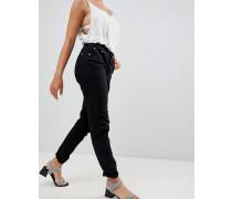 Mom-Jeans mit Umschlagsäumen