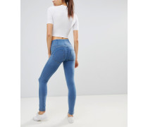 WR.UP - Enge formende Jeans mit hoher Taille