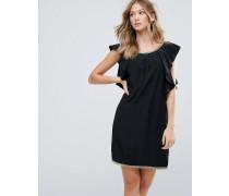 Cocktail-Kleid mit gerüschten Seiten