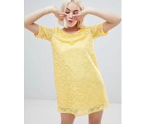 Swing-Kleid in Spitzenoptik