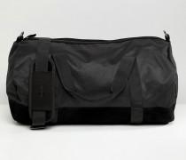 Klassische Duffle-Tasche in Schwarz