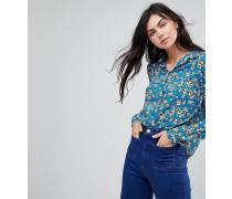 Locker geschnittene Bluse mit Blumenmuster