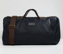 Gewachste Reisetasche in Marineblau