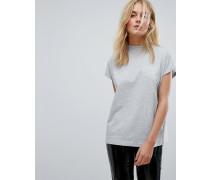 Hochgeschlossenes T-Shirt