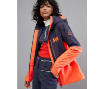 Freedom - Jacke in Marineblau/Orange