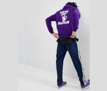 Sippin - Kapuzenpullover mit Aufdruck hinten in Violett