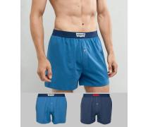 Lockere Jersey-Boxershorts im 2er-Pack