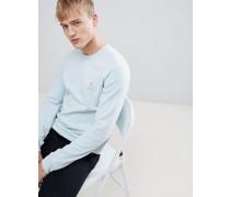 Lonleat - Enges Sweatshirt mit weitem Rundhalsausschnitt in Blau