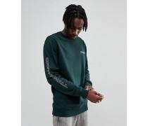Scarab - Grünes Sweatshirt mit Ärmelprint VA36SDQHK