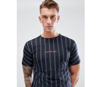 T-Shirt mit Nadelstreifen