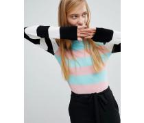 Leichter gestreifter Pullover