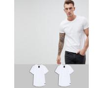 T-Shirts im 2er-Pack
