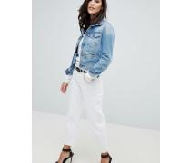 3301 - Kürzer geschnittene Boyfriend-Jeans mit mittelhohem Bund
