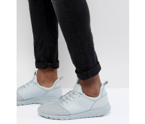Knit Racer - Gewebte Sneaker in Grau