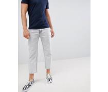 Otis - Kurz geschnittene Skater-Jeans in Dunkelweiß