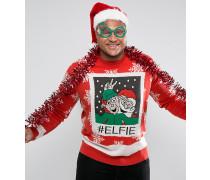 PLUS - Elfie - Weihnachts-Pullover