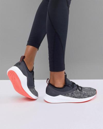 Genießen Günstig Online New Balance Damen Fresh Foam Lazr - Gestrickte Lauf-Sneaker in Schwarz 100% Original Online-Verkauf iYYgox
