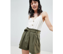 Tencel-Shorts mit Bindeband